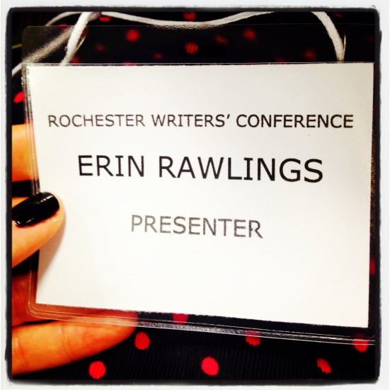 Erin Janda Rawlings Rochester Writers' Conference Presenter Pass